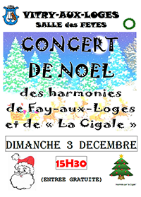 Concert de Noël Dimanche 03 décembre