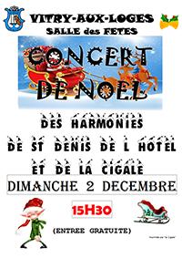 Concert de Noël Dimanche 02 décembre