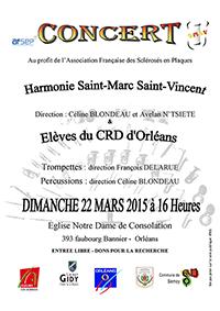 Concert au profit de l'AFSEP Dimanche 22 Mars 16h00