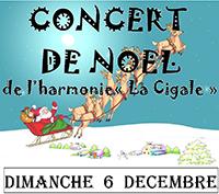 Concert de Noël Dimanche 06 décembre