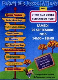 Forum des associations Samedi 05 Septembre
